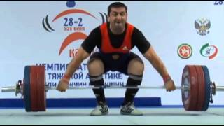 Мужчины до 94 кг Рывок ЧР 2013