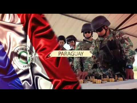 Fuerzas comando en Paraguay 2017