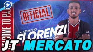 OFFICIEL : Alessandro Florenzi débarque au PSG | Journal du Mercato