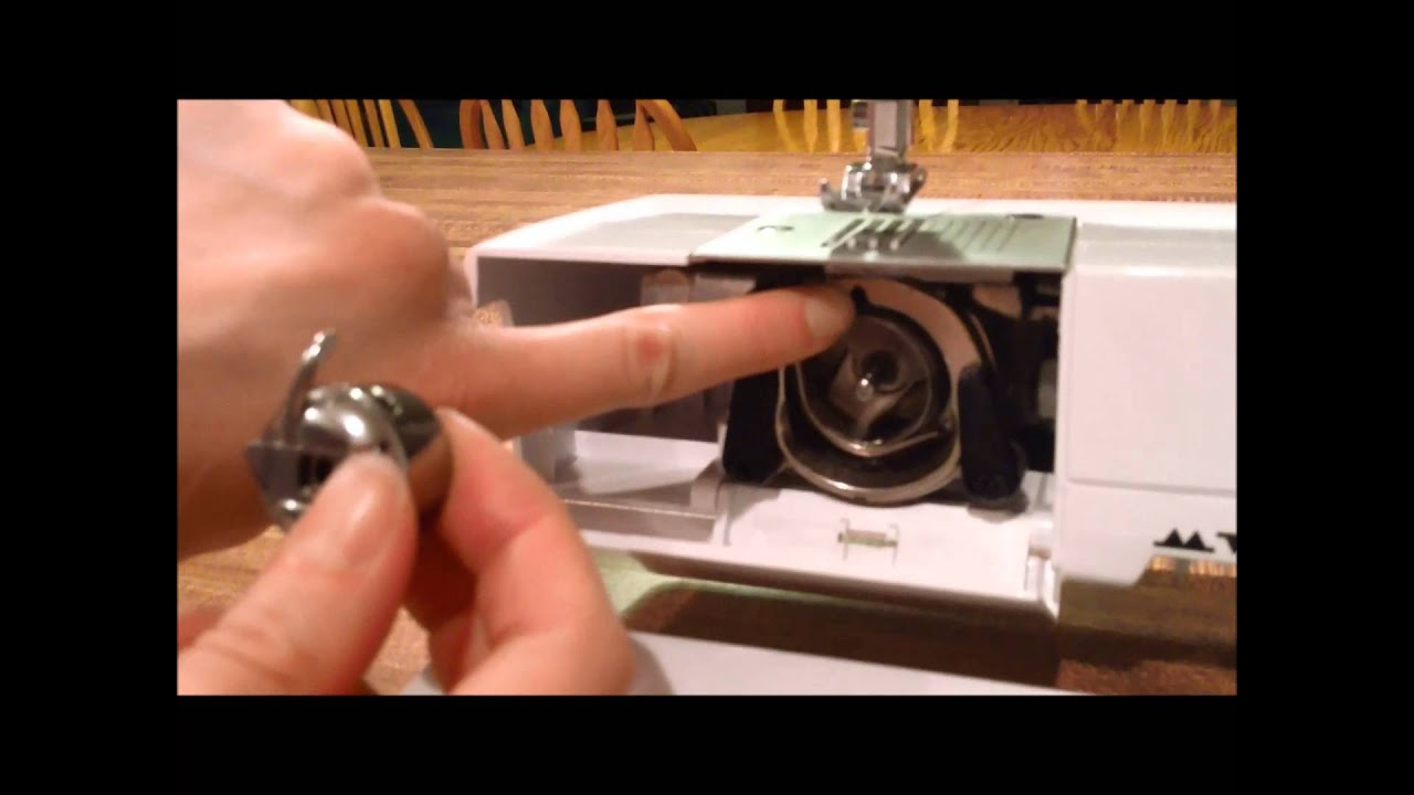 How To Thread The Bobbin On A Singer Sewing Machine Youtube 221 K Threading Diagram