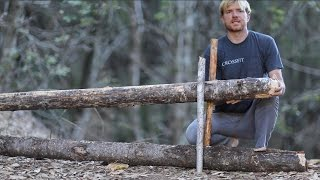 Video Survival Trap- Figure Four Deadfall Setup--with extra tips download MP3, 3GP, MP4, WEBM, AVI, FLV Agustus 2017
