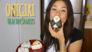 JAPANESE HEALTHY SNACK-ONIGIRS!
