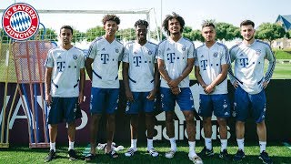 The youngsters of FC Bayern
