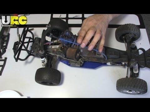 In the Workshop 5/14/13: Nitro Slash tires & tweaks