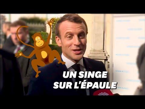 Macron élude une