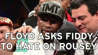 50 Cent, Floyd Mayweather Take Shot At Ronda Rousey