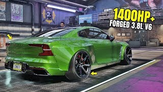 Need for Speed Heat Gameplay - 1400HP+ POLESTAR 1 Customization | Max Build 400+