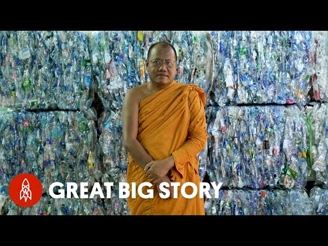How a Buddhist Monk Is Turning Plastic Into Robes