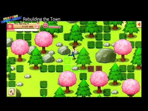 Harvest Moon: Light of Hope - Feature Spotlight #1: Rebuilding