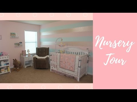 NURSERY TOUR! Baby Girl Decor