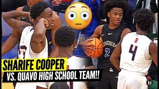 Sharife Cooper Gets Tested by QUAVO HS Team & Then Drops 37 Point!! McEachern vs Berkmar!!