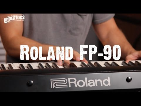 Roland FP-90 First Look!