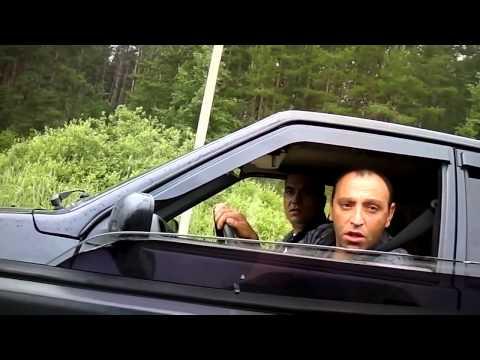 18+ Хачи армяне качают права  Быдло на дороге!
