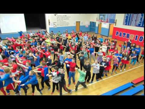 Independence Junior High School accepts the #GIMMEFIVE dance challenge