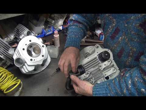 1958 panhead 74ci #138 fl bike rebuild topend repair harley by tatro machine