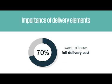 Cross-border e-commerce delivery preferences - IPC cross-border e-commerce shopper survey 2017