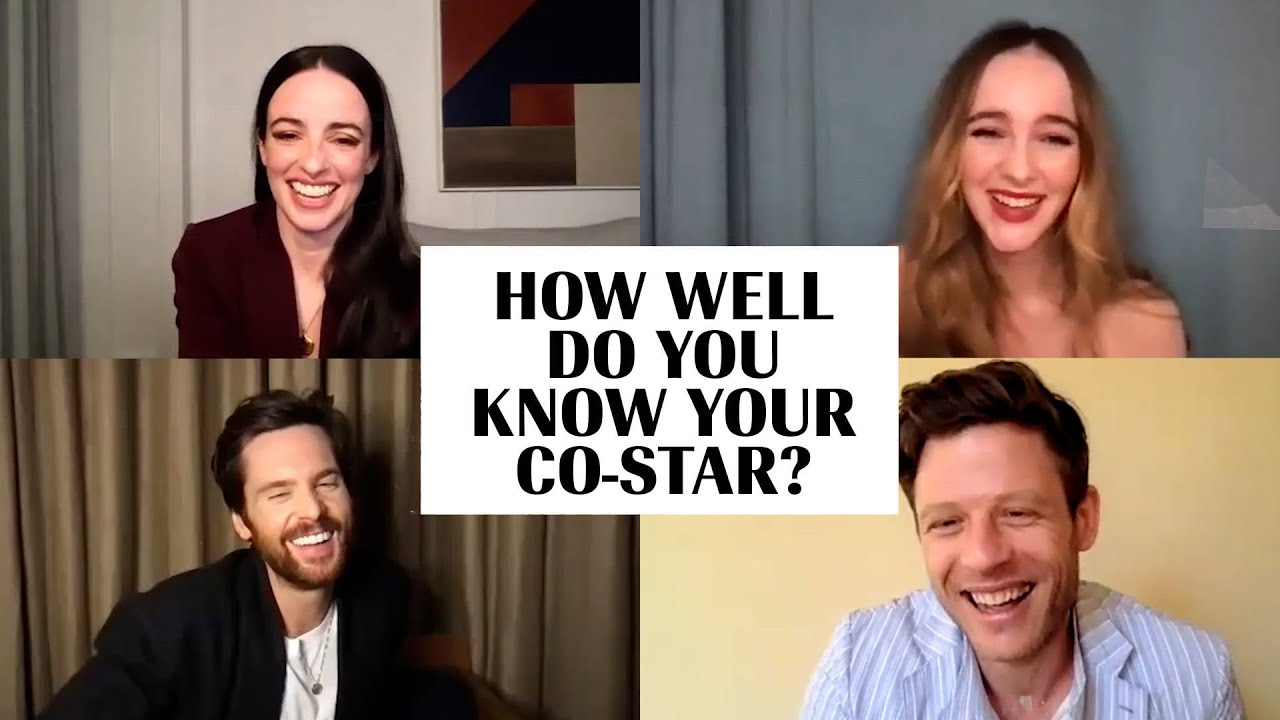 The Cast of 'The Nevers' Plays 'How Well Do You Know Your Co-Star?' | Marie Claire