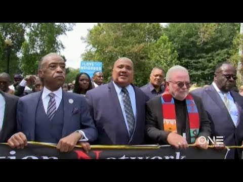 Interfaith Ministers March For Justice In Washington D.C.