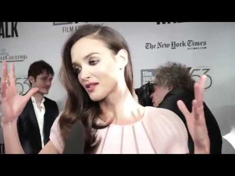 Charlotte Le Bon  'The Walk' Red Carpet  NYFF53