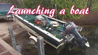 How To Launch Your Boat By Yourself Or With Help