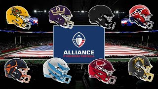 Ranking the best AAF uniforms and logos