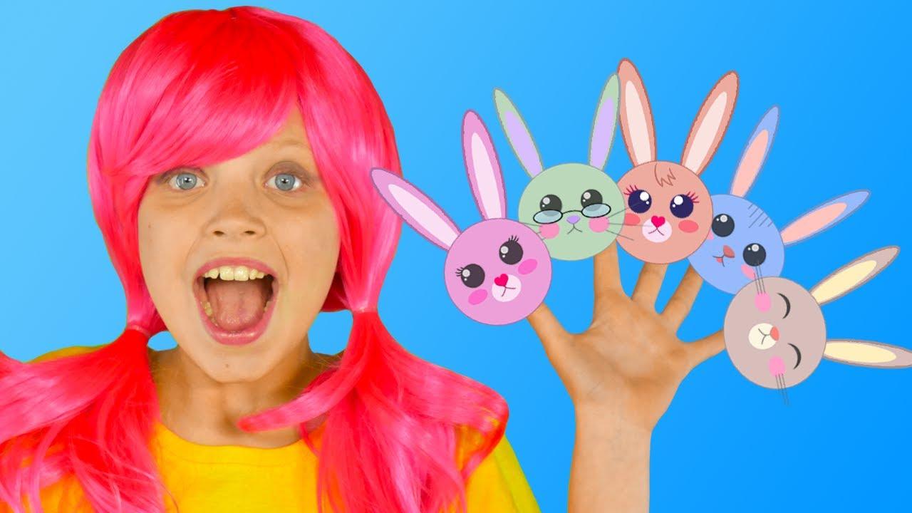 Little Bunnies Funny Nursery Rhyme   Mango Kids Songs & Nursery Rhymes