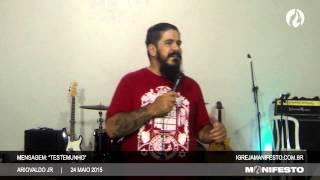 Manifesto Uberlândia - 24/05/2015 - Testemunho