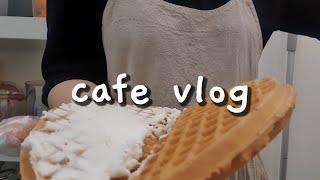 cafe vlog/ 배달하는 카페 일상/샌드위치 단체 …