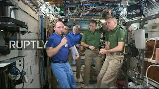 Video LIVE: Expedition 52/53 crew returns from ISS: hatch closure download MP3, 3GP, MP4, WEBM, AVI, FLV Februari 2018
