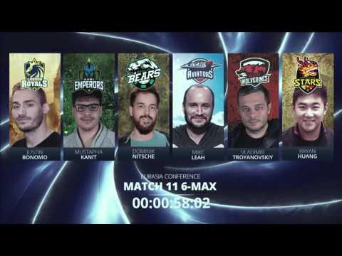 Replay: GPL Week 2 EurAsia 6-max match 1 - W2M11