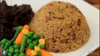 Gungo Rice & Peas Jamaican Gungo & Peas Rice Jamaican Food | Recipes By Chef Ricardo