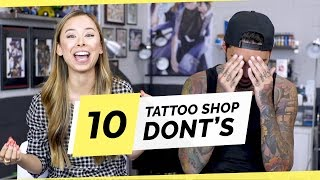 Never Do These 10 Things When Getting Tattooed - with Tattoo Artist Romeo Lacoste