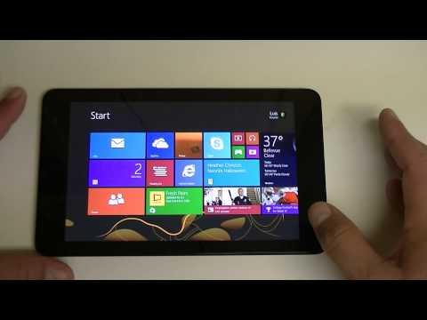 Dell Venue 8 PRO ESPANOL REVIEW Windows Tablet