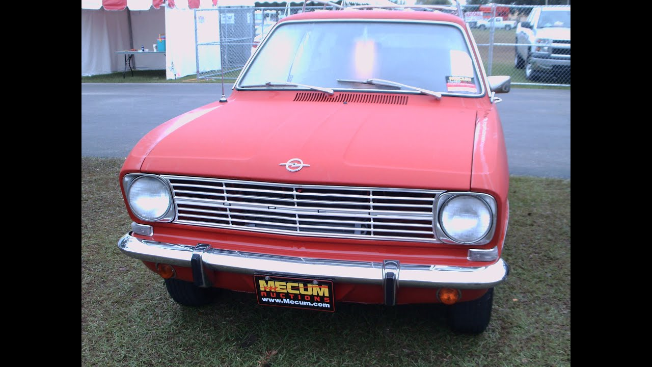 Unique Opel Kadett L Two Door Station Wagon Red  MB58