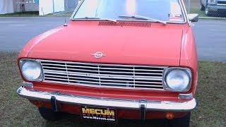 Opel Kadett L Two Door Station Wagon Red KissimmeeMecumAuction012015A