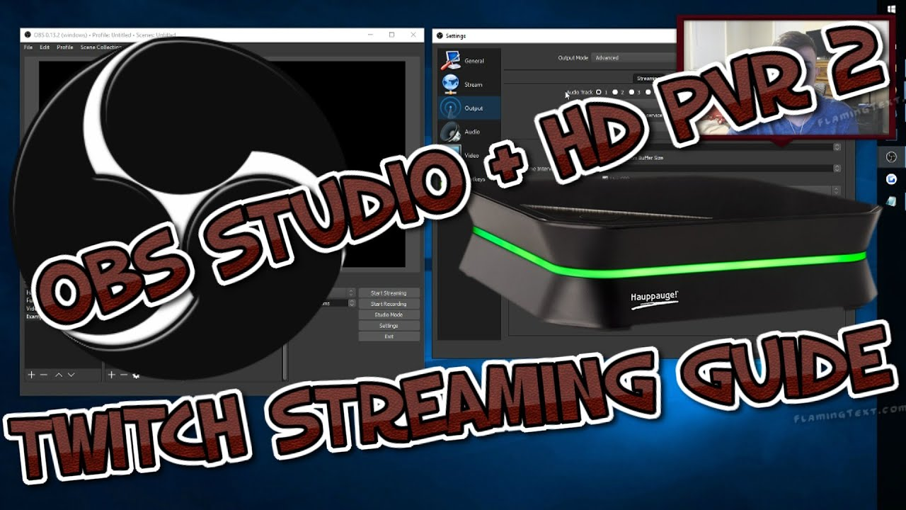 Twitch Streaming Guide - OBS Studio - HDPVR 2 Gaming Edition/Elgoto by  JayKay