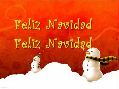 Letra de la cancion navidad feliz navidad
