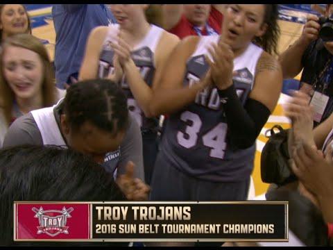Troy Women's Basketball SBC Championship - Radio Call