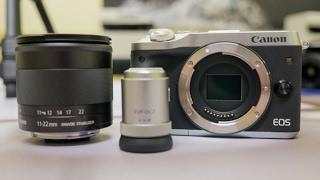 Kamera Canon Eos M6 Kit 15-45mm Is Stm Paket