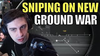 SHROUD ▪ INSANE Sniping On New Ground War Map 【Call Of Duty Modern Warfare】