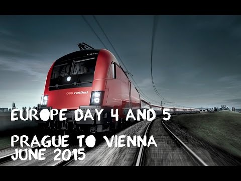 Europe Ep. 4 - Prague to Vienna