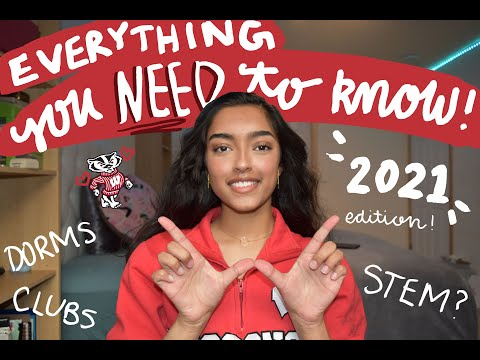 FRESHMAN GUIDE TO UW MADISON // Dorms, Food, Football, Diversity, Clubs