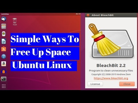 Simple Ways To Free Up Space on Ubuntu, Use A System Cleaner like BleachBit