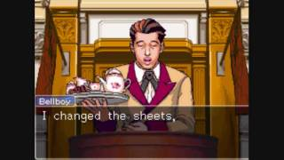 Phoenix Wright: Ace Attorney - Ep. 2, Part 7: The Bellboy Testifies