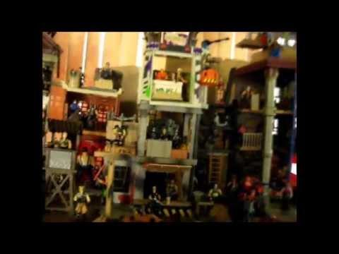 Dreadnok Mansion 2015 Custom GI Joe Playset Zartan