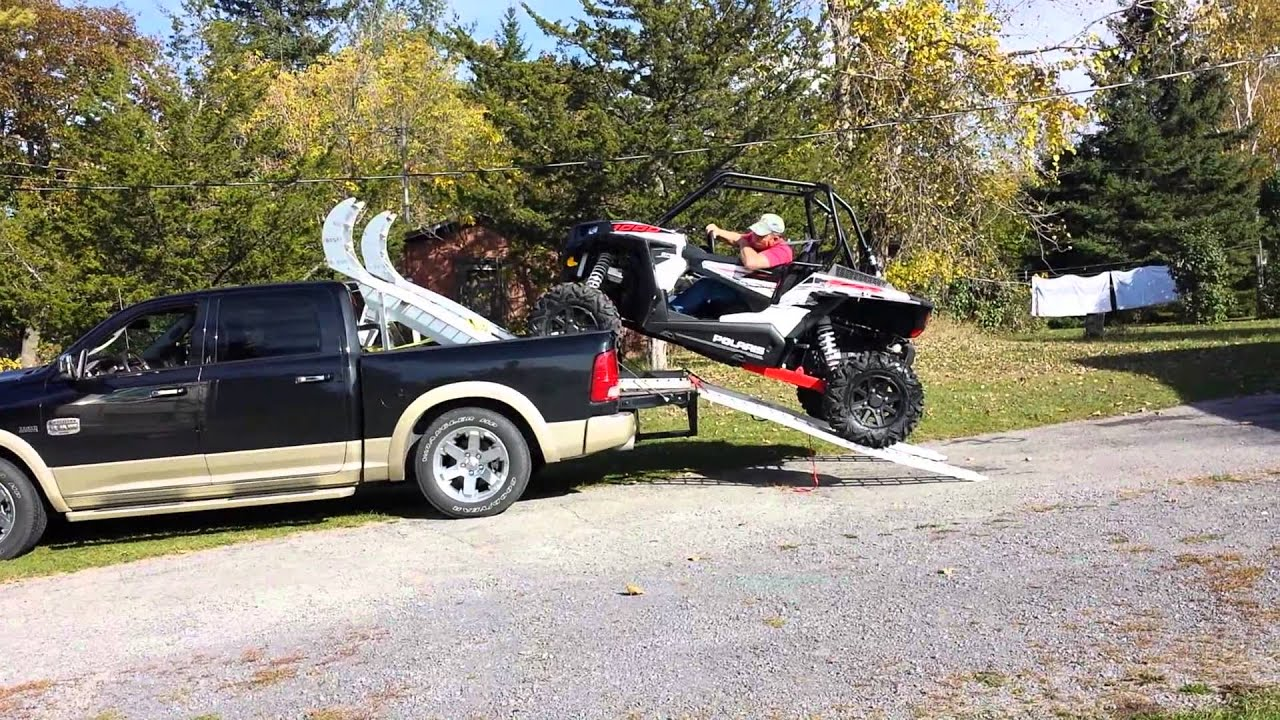 Rzr Trail In R Truck Bed