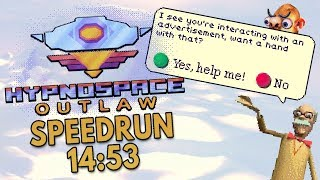 Hypnospace Outlaw Speedrun in 14:53