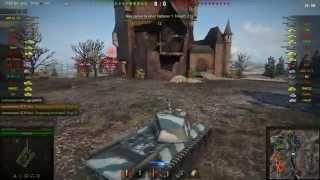 FCM 50t gameplay - Ace Tanker - World of Tanks - 9.9 XVM mod pack