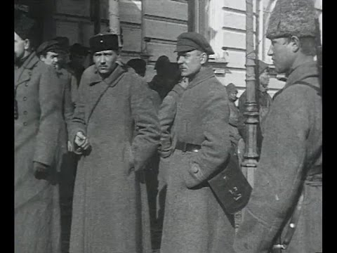 Révolte des marins de Kronstadt, mars 1921