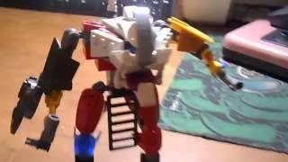 Cамодельный робот АХЕ из б/у деталей лего